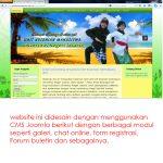 jasa pembuatan website organisasi - ukm-unj - joelouisrock - com