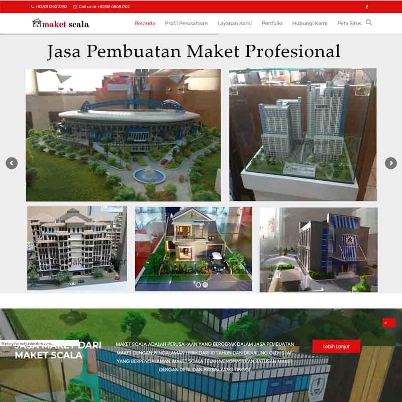 jasa pembuatan website maket - joelouisrock-com