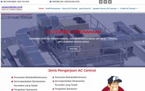 jasa desain website service ac central - jasaaccentral -co - id