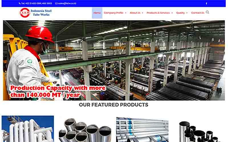 jasa pembuatan website company profile - joelouisrock - com