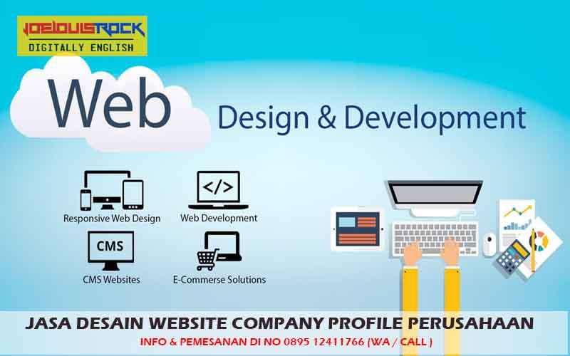 jasa desain website company profile perusahaan - joelouisrock -com